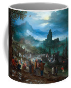 Harbour Scene With Christ Preaching Coffee Mug