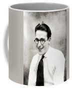 Harold Lloyd, Legend Of The Silver Screen Coffee Mug