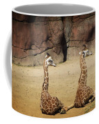 Having A Giraffe Coffee Mug