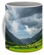 Hay Barns In Oberinntal, Pettneu Am Arlberg Coffee Mug