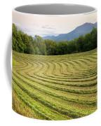 Hayfield Landscape Coffee Mug