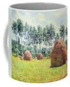 Haystacks At Giverny Coffee Mug