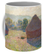 Haystacks, Midday Coffee Mug
