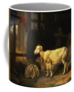 Heath Ewe And Lambs Coffee Mug