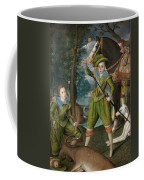 Henry Frederick Prince Of Wales With Sir John Harington In The Hunting Field Coffee Mug