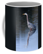 Heron Reflection Coffee Mug