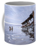 The Peter Iredale Wreck, Cannon Beach, Oregon Coffee Mug
