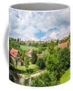 Historic Town Of Rothenburg Ob Der Tauber  Coffee Mug