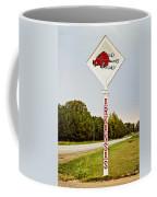 Hog Sign Coffee Mug by Scott Pellegrin