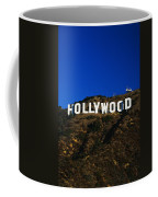 Hollywood Sign Los Angeles Ca Coffee Mug