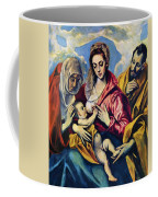 Holy Family With St Anne Coffee Mug