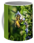 Honey Bee On Bush Coffee Mug