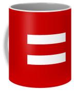 Horizontal White Outside Stripes 02-p0169 Coffee Mug