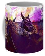 Horses Harmony For Two Animal World  Coffee Mug