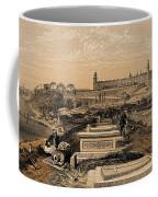 Hospital And Cemetery At Scutari, C.1854 Coffee Mug