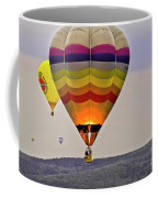 Hot-air Balloning Coffee Mug by Heiko Koehrer-Wagner