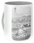 Hot Air Balloon Inflation Coffee Mug