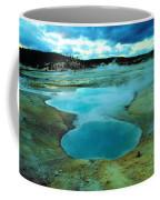 Hot Springs In Yellowstone. Coffee Mug