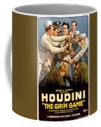 Houdini In The Grim Game 1919 Coffee Mug