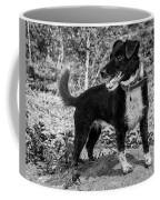 Hound On A Mound Coffee Mug
