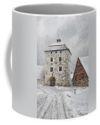 Hovdala Castle Gatehouse In Winter Coffee Mug