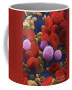 Human Blood Cells Coffee Mug by NIH / Science Source