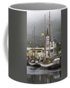 Husavik Harbor Iceland 3660 Coffee Mug
