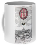 Hydrogen Balloon, 1783 Coffee Mug