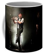 Ian Anderson Of Juthro Tull  Live Concert Coffee Mug