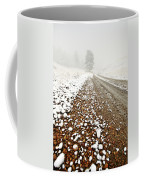 Ice Fog In Cypress Hills Provincial Park Of Saskatchewan Coffee Mug