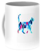 Ice Triangles Cats Coffee Mug