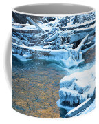 Icy Blue River Coffee Mug
