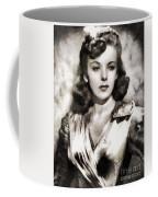 Ida Lupino, Vintage Actress Coffee Mug