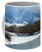 Idaho Winter River Coffee Mug