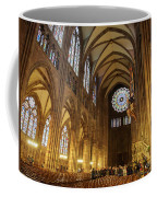 Interior Of Strasbourg Cathedral Coffee Mug