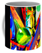 Intersections Abstract Collage Coffee Mug