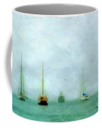 Into The Fog Coffee Mug by Darren Fisher