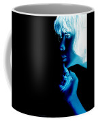Inverted Realities - Blue  Coffee Mug