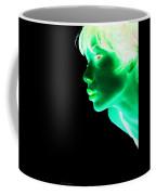 Inverted Realities - Green  Coffee Mug