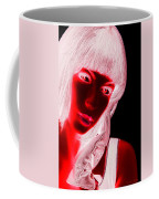 Inverted Realities - Red  Coffee Mug