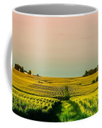 Iowa Cornfield Panorama Coffee Mug