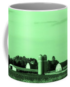 Iowa Farm Panorama Coffee Mug