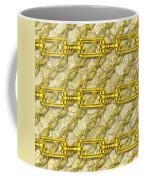 Iron Chains With Money Seamless Texture Coffee Mug