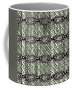 Iron Chains With Wood Seamless Texture Coffee Mug
