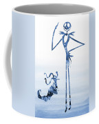 Jack With Zero-blue Coffee Mug