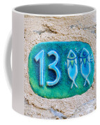 Jaffa, Pisces Zodiac Street Sign  Coffee Mug