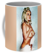 Jayne Mansfield, Vintage Hollywood Actress And Pinup Coffee Mug