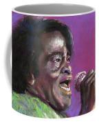 Jazz. James Brown. Coffee Mug by Yuriy Shevchuk