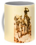 J.c. Fremont And His Guide, Kit Carson Coffee Mug