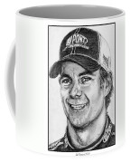 Jeff Gordon In 2010 Coffee Mug by J McCombie